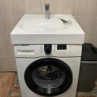 Раковина на стиральную машину Spring 60