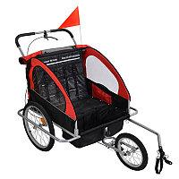 Велоприцеп для перевозки детей 2 в 1, фото 1