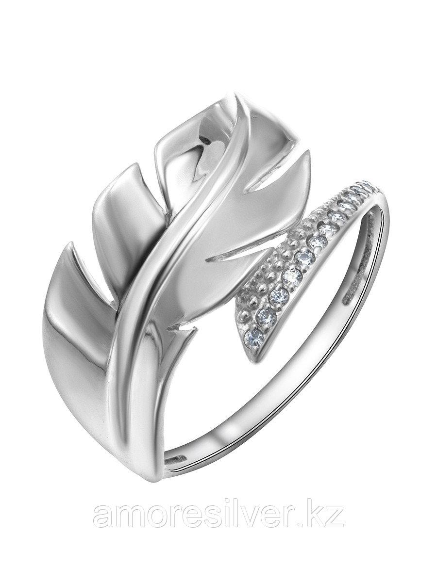Кольцо MASKOM серебро с родием, фианит, фантазия 121-1734 размеры - 18 18,5