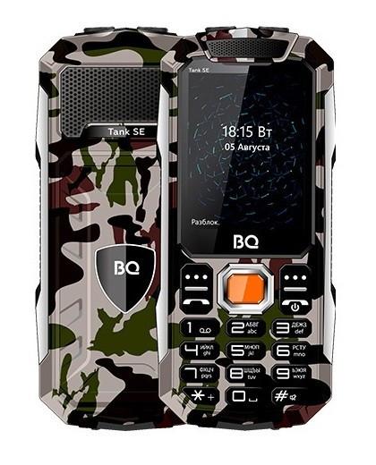 Мобильный телефон BQ-2432 Tank SE военный зеленый