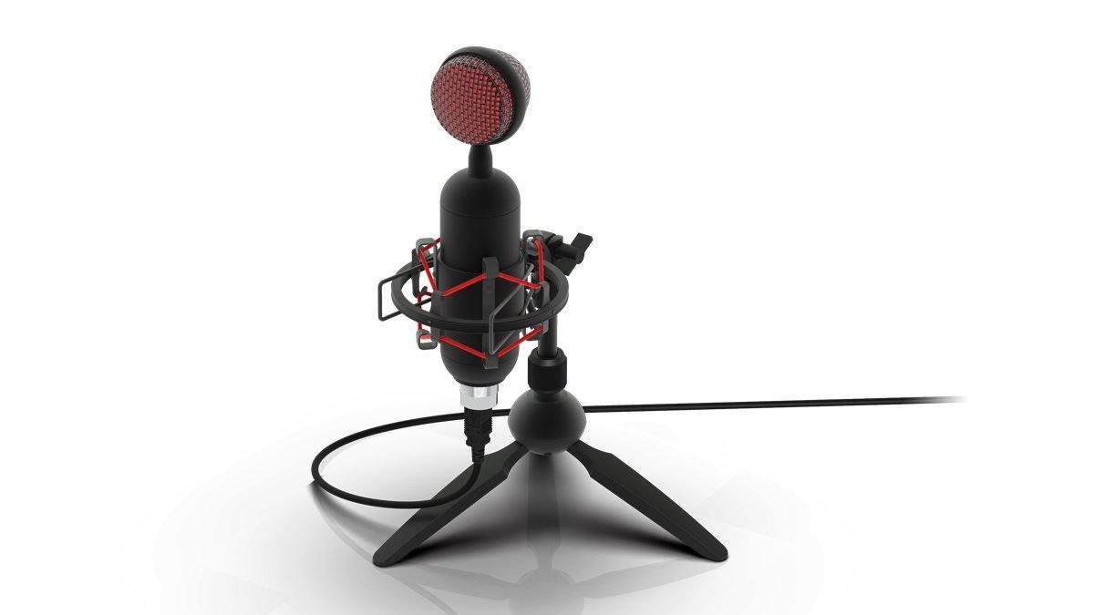 Студийный микрофон Ritmix RDM-230 USB Eloquence черный