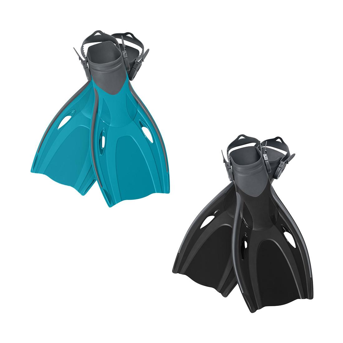 Ласты для плавания Endura BESTWAY, 27029 Синие/чёрные