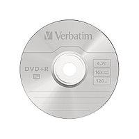 Диск DVD+R, Verbatim, (43498) 4.7GB, 16х, 10шт в упаковке,
