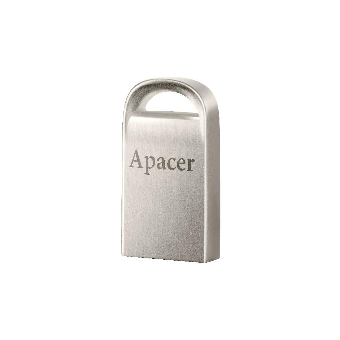 USB-накопитель, Apacer, AH115, AP64GAH115S-1, 64GB, USB 2.0, Серый