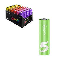 Батарейка Xiaomi Zi5 AA Rainbow Battery Alkaline LR6 24шт, штучно