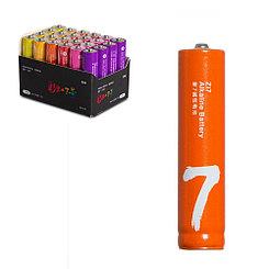 Батарейка Xiaomi Zi7 AAA Rainbow Battery Alkaline LR03 24шт, штучно