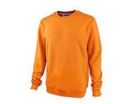Свитшот Motion унисекс с начесом, оранжевый