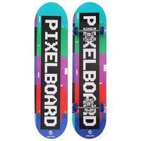 Скейтборд подростковый PIXELBOARD 71 x 20 см, колёса PVC 50 мм, пластиковая рама