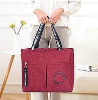 Водоотталкивающая сумка для путешествий непромокаемая H.K.Storage красная