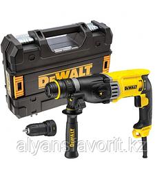 DeWalt, D25144K, Трехрежимный SDS-plus перфоратор, 28 мм, 900 Вт + БЗП патрон