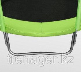 Батут ARLAND 6 ft inside с внутренней страховочной сеткой и лестницей (Light green) - фото 4