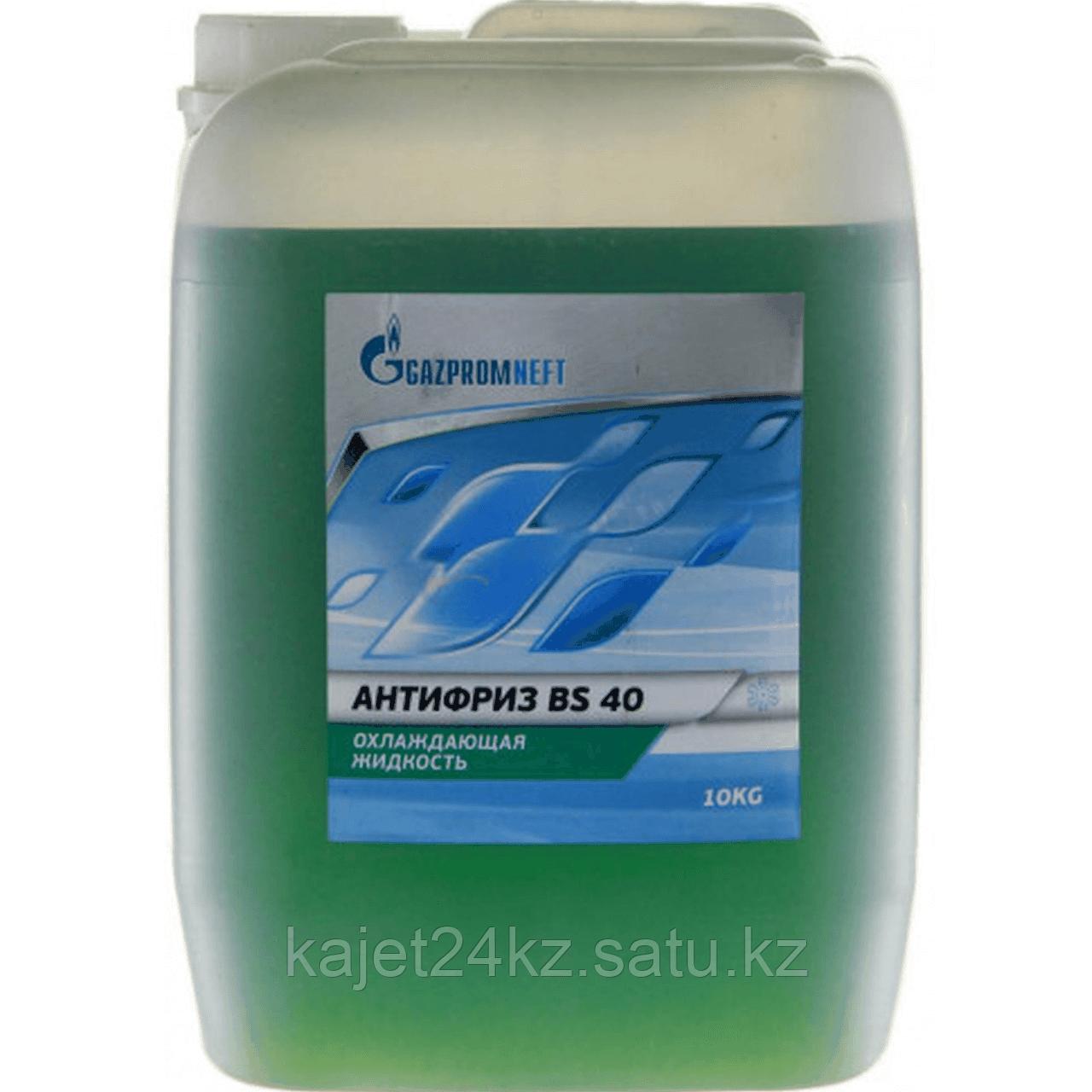 Антифриз 40 ОЖ (BS) зел. 10кг Газпромнефть