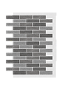 Декоративное покрытие Фасад АМК кирпич МИКС, фото 3
