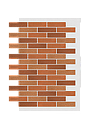Декоративное покрытие Фасад АМК кирпич МИКС, фото 5