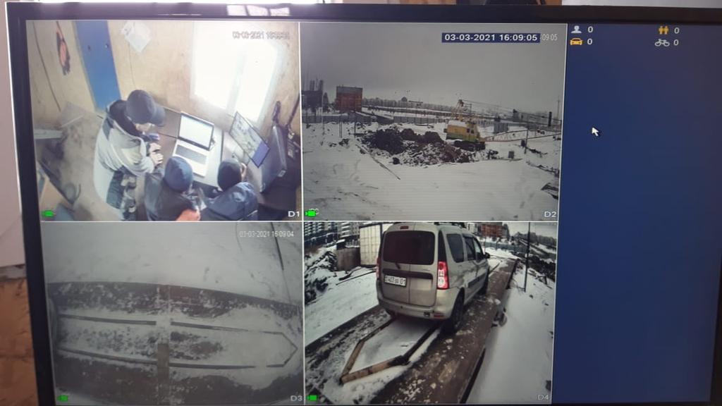 Оборудование видеонаблюдения DAHUA с распознаванием номеров