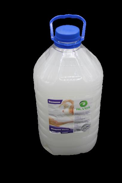 Жидкое мыло для рук ALVER, 5л Эконом (Белое)