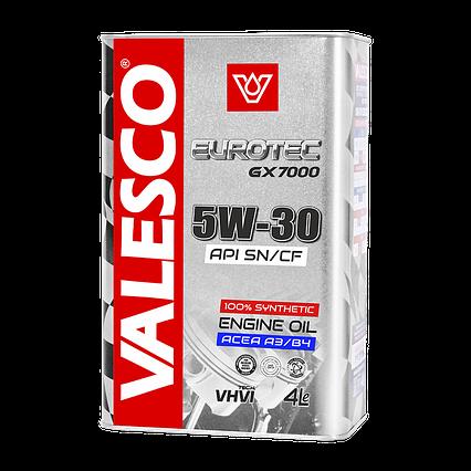 VALESCO EUROTEC GX7000 SAE 5W-30, API SN/CF