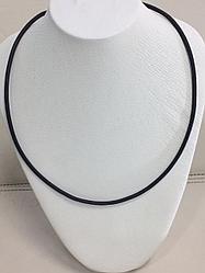 Шнур кожаный / красное золото - 50 см