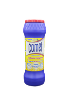 Чистящий порошок Comet Лимон с хлорином, Банка 475г