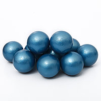 Шары для сухого бассейна Синий металлик