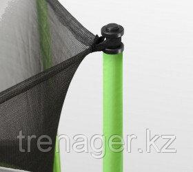 Батут ARLAND 8 ft inside с внутренней страховочной сеткой и лестницей (Light green) - фото 5