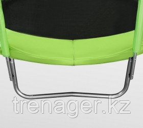 Батут ARLAND 8 ft inside с внутренней страховочной сеткой и лестницей (Light green) - фото 3