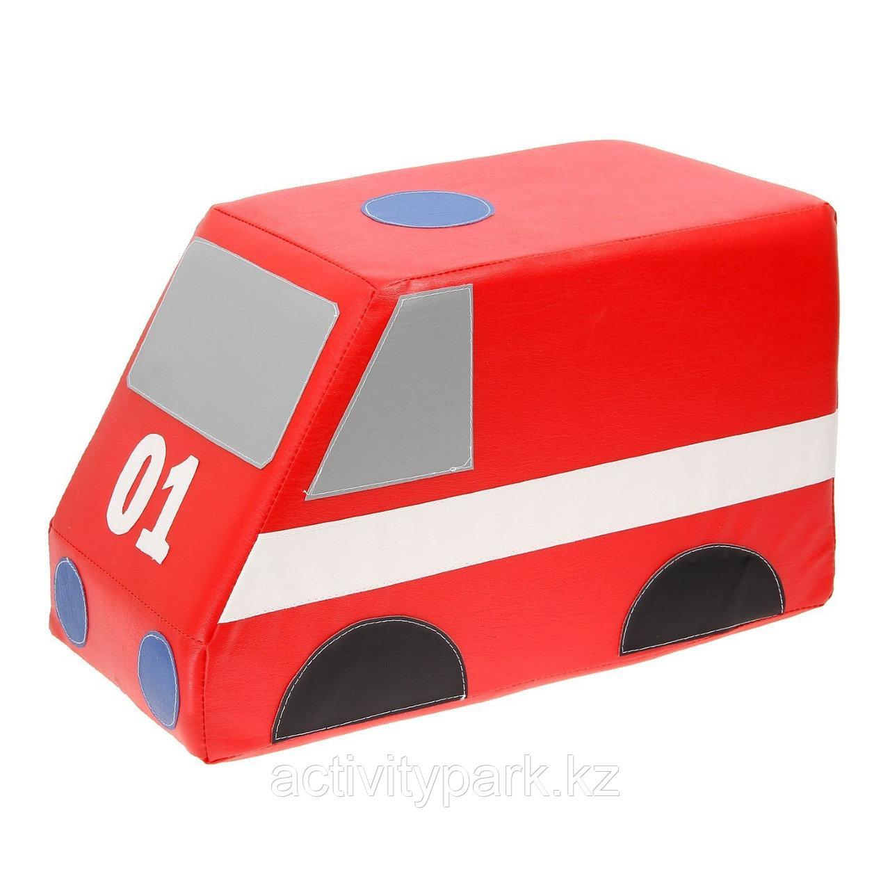 Мягкий модуль «Машина пожарная»