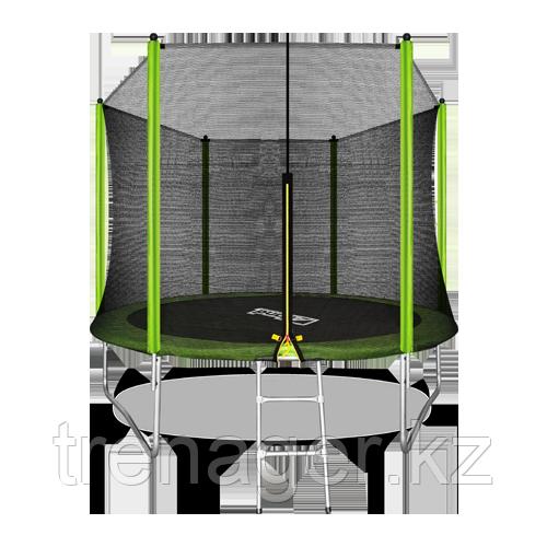 Батут ARLAND 10 ft outside с внешней страховочной сеткой и лестницей (Light green)