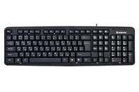 Клавиатура проводная Defender Element HB-520 KZ черный, фото 1