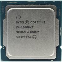 Intel Core i5-10600KF 4,1GHz (4,8GHz) 12Mb 6/12 Core Comet Lake 95W                     Tray