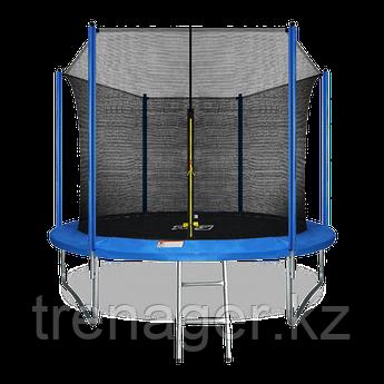 Батут ARLAND 10 ft inside с внутренней страховочной сеткой и лестницей (Blue)