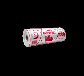 Маечка без ручки, рулон, прозрачный 200шт