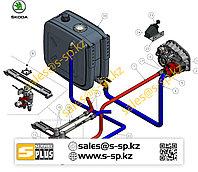 Гидравлический набор на Skoda LIAZ