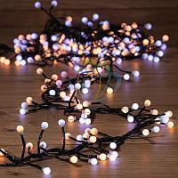 """Гирлянда """"Мишура LED"""" - 3 метра, 288 LED лампочек, белый +теплый-белый свет, свечение с динамикой"""