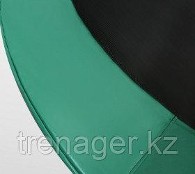 Батут ARLAND Premium 10 ft inside с внутренней страховочной сеткой и лестницей (Dark green) - фото 4