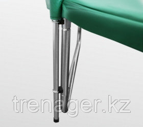 Батут ARLAND Premium 10 ft inside с внутренней страховочной сеткой и лестницей (Dark green) - фото 6