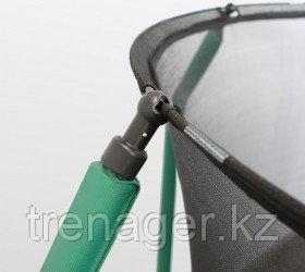 Батут ARLAND Premium 10 ft inside с внутренней страховочной сеткой и лестницей (Dark green) - фото 7