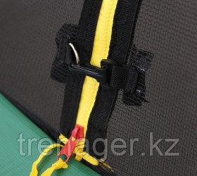 Батут ARLAND Premium 10 ft inside с внутренней страховочной сеткой и лестницей (Dark green) - фото 9