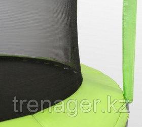 Батут ARLAND 12 ft inside с внутренней страховочной сеткой и лестницей (Light green) - фото 4