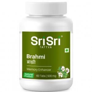 Брахми 60 таблеток, Sri Sri Tattva, для стимуляции функций мозга и нервной системы