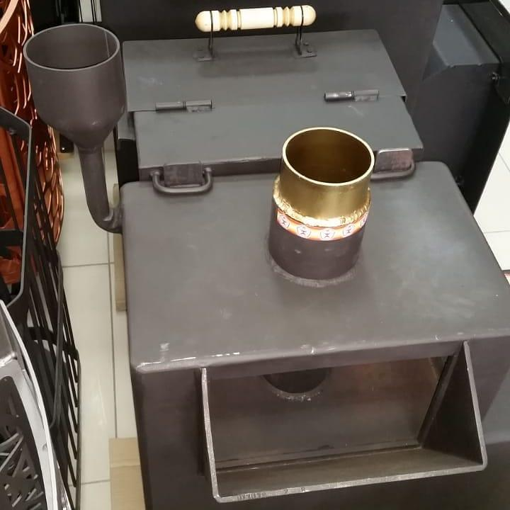 Печи для бани металлические и чугунные - фото 4