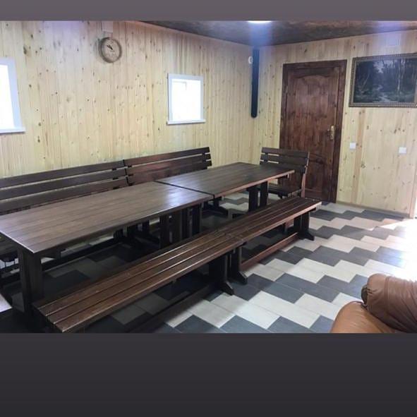 Мебель для бани, беседок и комнат отдыха - фото 4