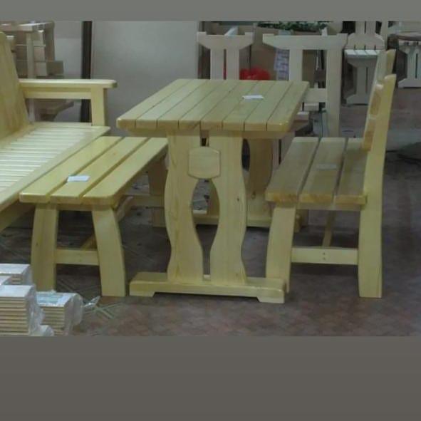 Мебель для бани, беседок и комнат отдыха - фото 5