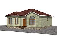 Индивидуальный жилой дом 96 кв.м из СИП-панелей