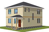 Двухэтажный индивидуальный жилой дом