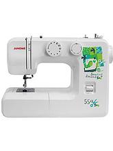 Швейная машинка JANOME-550 85Вт,15операций,петля плуавтомат