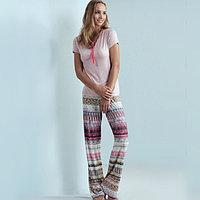 Пижама с брюками весна-лето