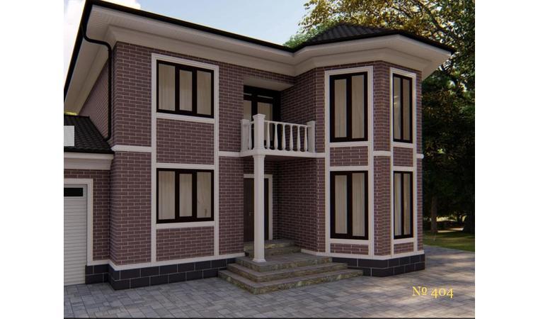 Декоративное покрытие Фасад АМК  блок Однотонный