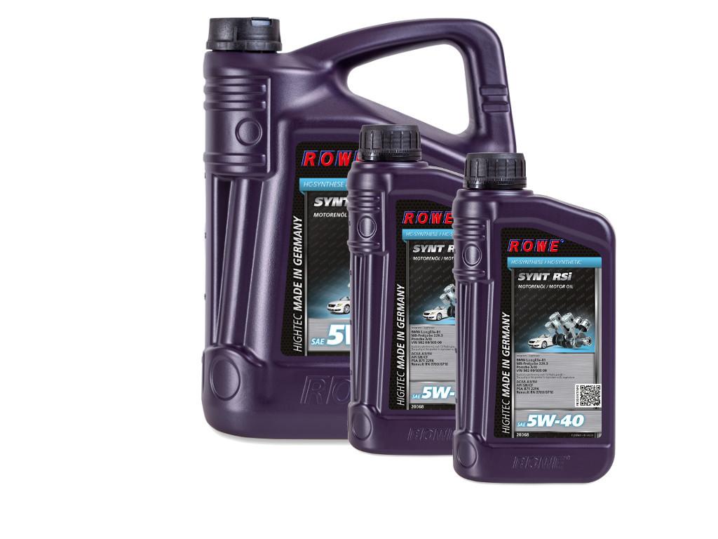 Масло моторное ROWE HIGHTEC SYNT RSi SAE 5W-40, 7 литров (5L + 2L)