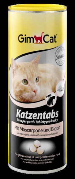 Таблетки для кошек с маскарпоне и биотином, Gimcat, уп. 708шт.